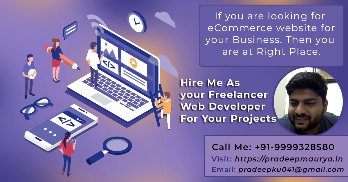 1 Freelance Web Developer And Designer In Delhi Ncr India